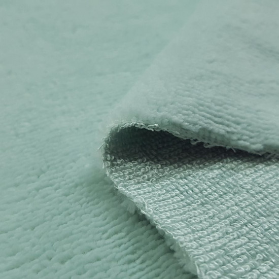 Bamboo Terry Cloth 40% fabric - Bamboo terry towel / terry cloth with a velvety touch on one side and a percentage of 40% bamboo. Bamboo terry cloth is widely used in childcare, children's clothing, make-up removal pads, reusable compresses, of course