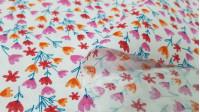 Cotton Sweet Flowers fabric -