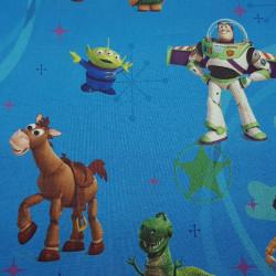 Cotton Disney Toy Story Blue