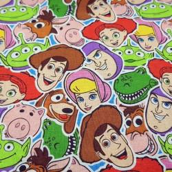 Cotton Disney Toy Story Mosaic