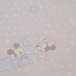 Cotton Disney Mickey Minnie Babies