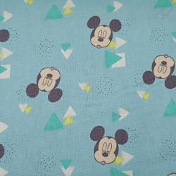Cotton Disney Mickey Triangles