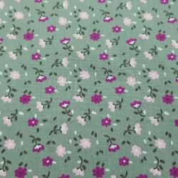 Cotton Flowers 15788 Green