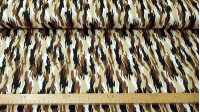 Cotton Camouflage Small fabric - Cotton fabric with camouflage pattern in various shades of colors to choose from. The fabric is 140cm wide and its composition is 100% cotton.