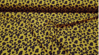 Cotton Animal Print fabric - Cotton fabric with drawings of animal skin print (animal print) The fabric is 150cm wide and its composition is 100% cotton.