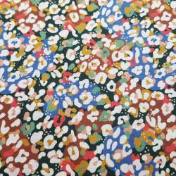 Cotton Tropical Animal Print