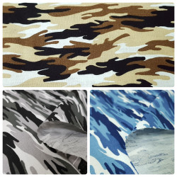 Cotton Camouflage Small