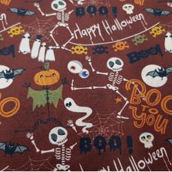 Cotton Halloween Boo to you