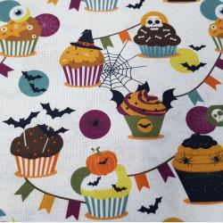 Cotton Halloween Cupcakes