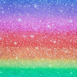 Cotton Shiny Rainbow