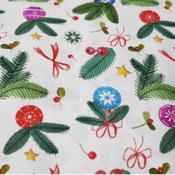 Cotton Christmas Decoration Bows