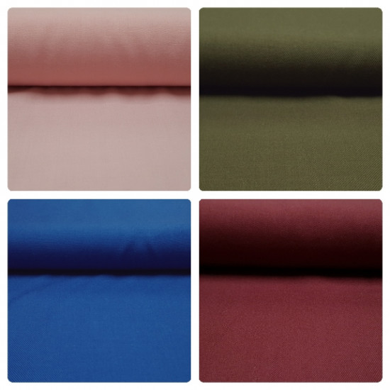 OUTLET Viella Uni fabric - Uni viella / viyela fabric in several colors to choose from. The fabric is 80cm wide and its composition 70% polyester - 30% fiber Fabric Outlet Cheap Clearance
