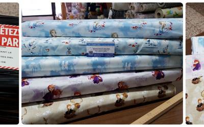 New Frozen 2 Fabrics