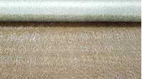 Net Lurex Decorative Mesh fabric - Bright, semi-transparent and stiff fabric that forms a kind of non-uniform decorative mesh used a lot in decoration, parties and carnivals. It is available in silver and gold colors.