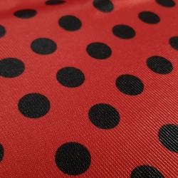 Carnival Satin Ladybug Polka Dot