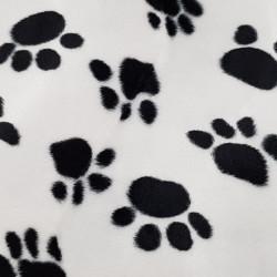Velboa Footprints Print