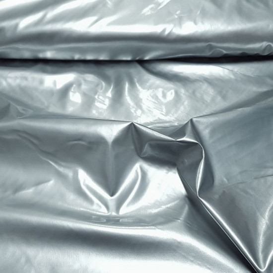 Lacquer fabric - Shiny lacquer fabric with polyurethane coated, ideal for decorations, costumes and other accessories. The fabric measures 138cm wide and its 100% polyester composition.