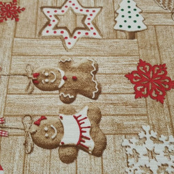 Canvas Christmas Cookies