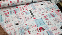 Canvas Positive Phrases Wonderful fabric -