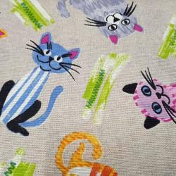 Canvas Cats Colors