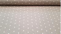 Tela Loneta Corazones Blancos - Tela de loneta, resistente y fuerte, con dibujos de corazones blancos sobre varios fondos a elegir. El ancho de esta tela mide 280cm y la composición es 50% Algodón, 50% Poliester. Es una tela ideal para complementos