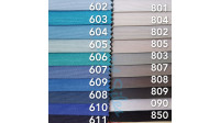 Canvas Uni fabric - The canvas fabric is ideal for upholstery, decoration, accessories ... since it is a very strong fabric and its wide width of 280cm makes it ideal for large jobs, such as sofa covers and curtains.