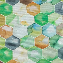 Canvas Honeycombs Colors