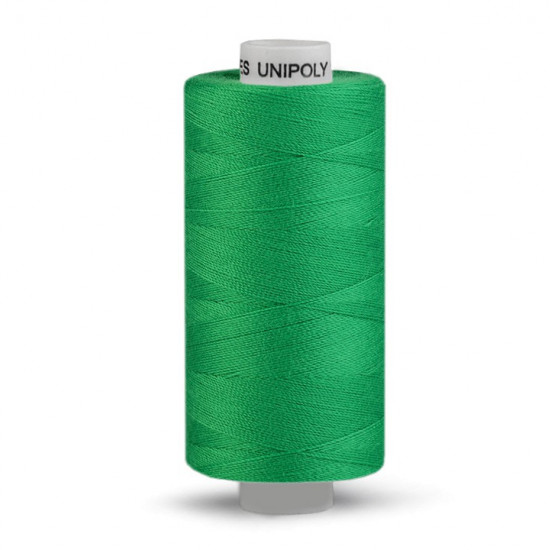 Polyester Thread 500m fabric - Universal polyester thread of the Unipoly brand for sewing by machine or by hand. You can sew knitwear, linen, table linen, towels, blouses, shirts, bathing suits, baby clothes, home textiles... Its composition is 10