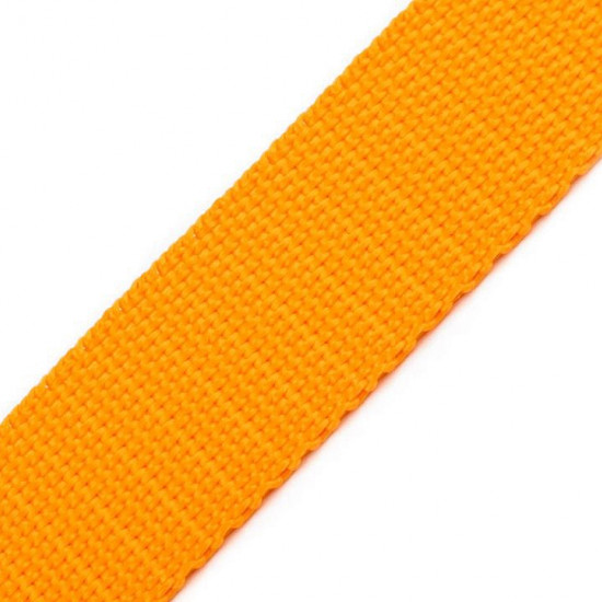 Polypropylene Webbing 30mm - Polypropylene webbing or strap, used mainly in the manufacture of bags, backpacks, chairs, upholstered furniture strings... It can also be used as a complement of outdoor clothing.