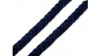 Braided Drawstring Cord 10-12mm fabric - Braided drawstring cord in a cotton and polyester blend composition with 10-12mm of diameter. This cord has many uses, for example, in making bags and backpacks, in sweatshirts, pants, jackets, home decorations, gi