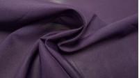 Tela OUTLET Crepe Georgette - Tela de Crepe tipo Georgette en color berenjena/morado. La tela mide 75cm de ancho y su composición 100% poliester. Tela Barata Liquidación Outlet