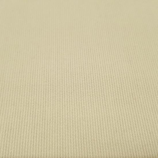 Tela OUTLET Piqué Liso Amarillo - Tela de piqué canutillo liso en color amarillo pálido. La tela mide 80cm de ancho y su composición 65% Poliester - 35% Algodón. Tela Barata Liquidación Outlet