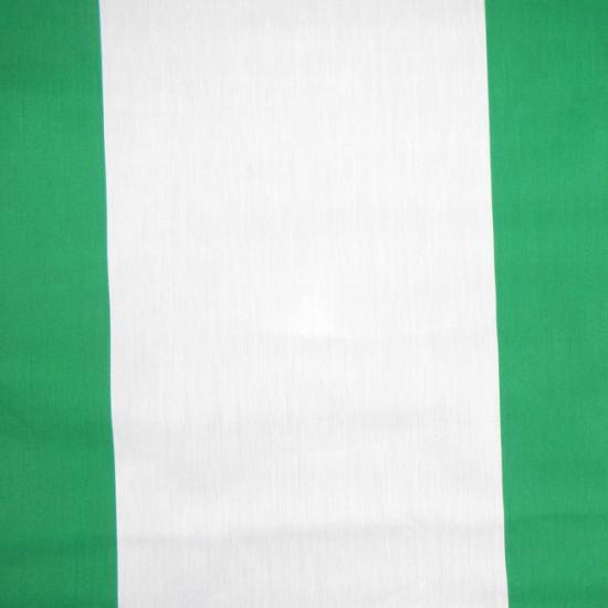 Tela Bandera Andalucía - Bandera de la Comunidad Autónoma de Andalucía. Festividades como el Día de Andalucía (28 febrero) y para fiestas del Rocío, carpas sevillanas, ferias... La tela mide 80cm de ancho y su composición 67% Poliester - 33%