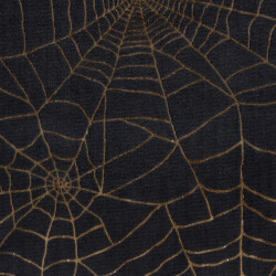 OUTLET Cobwebs Gold Black