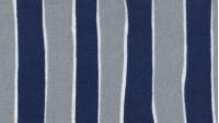 Tela Crespón Rayas - Tejido de crespón con rayas azules y grises separado por líneas blancas