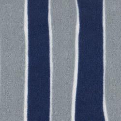 Crepe Gray Blue Striped