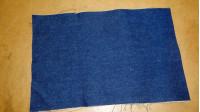 Remnant Denim fabric - Denim fabric remnantnavy blue Measurements (cm): 45x30