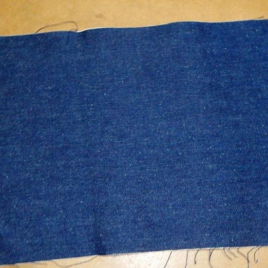 Tela Retal Tejano - Retal de Tejano color azúl marino Medidas (cm): 45x30